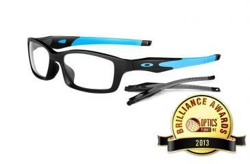 Oakley Crosslink Men's Eyeglass Frames with Non-Rx Lenses