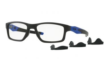 6d7efca4164 Oakley Crosslink MNP OX8090 Progressive Prescription Eyeglasses 809009-55 -  Satin Black Frame