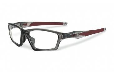 b4e1fa28e6a2 ... uk oakley crosslink sweep asian ox8033 eyeglass frames 803306 55 grey  smoke team cardinal 484b8 ee56e ...