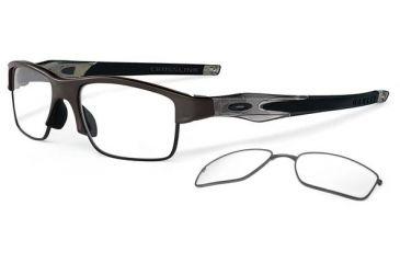 Oakley Crosslink Switch Eyeglasses - Pewter/Grey Smoke Frame OX3128-0253