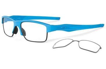 Oakley Crosslink Switch Eyeglasses - Sky Blue/Sky Blue Frame OX3128-0453