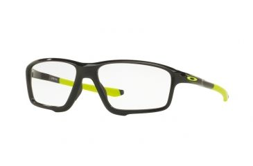 4d2f28ae01 Oakley CROSSLINK ZERO OX8076 Eyeglass Frames 807602-58 - Polished Black Ink  Frame