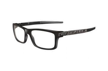 Oakley Currency Single Vision Rx Eyeglasses, Size 54 - Flint Frame OX8026-0254