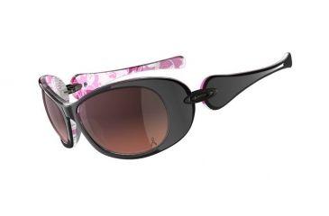 Oakley Dangerous Breast Cancer Polished Black /G40 Black Gradient Lenses Women's Sunglasses 24-167
