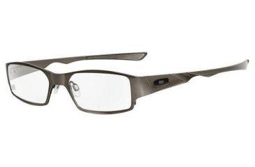 b1e47a170b9 Oakley Dictate 2.0 Frame Black Chrome Eyeglass Frames w  Blank Lenses 12-346