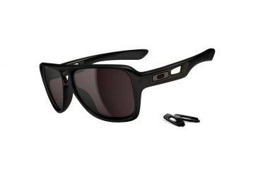 8b75208011 Oakley Dispatch Matte Black Frame w  Grey Lenses Men s Prescription  Sunglasses OO9090-01