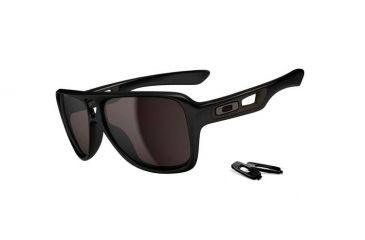Oakley Dispatch Matte Black Frame w/ Grey Lenses Men's Prescription Sunglasses OO9090-01