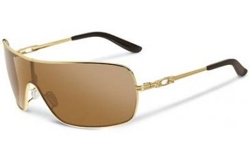Oakley Distress Sunglasses, Tungsten Iridium Lens, Polished Gold Frame OO4073-01