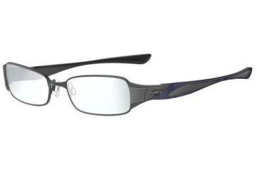 ca345179cb7 Oakley Ember 50mm Black Chrome Eyeglass Frames w  Blank Lenses 22-188