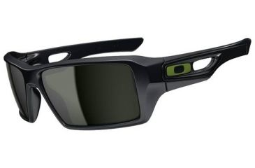 Oakley Eyepatch 2 Sunglasses - Steel Frame and Dark Grey Lens OO9136-19