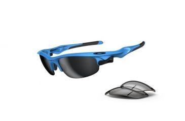 a145e32373 Oakley Fast Jacket Progressive Prescription Sunglasses - Sky Blue Frame  OO9097-04