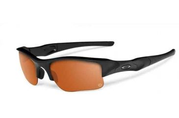 c9dc31b407a7 Oakley Flak Jacket XLJ Sunglasses, Matte Black Frame, Persimmon to Grey  Transition Lens 11