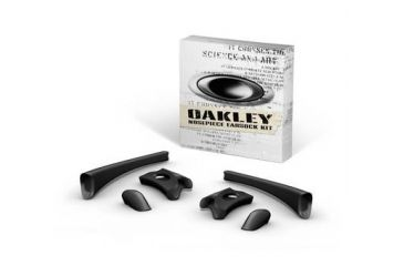 Oakley Flak Jacket Earsock/Nosepad Kit - Black  06-210
