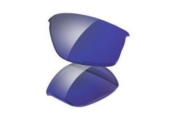 Oakley FlakJacket Replacement Lens Kit - Deep Blue Iridium Polarized 16-892