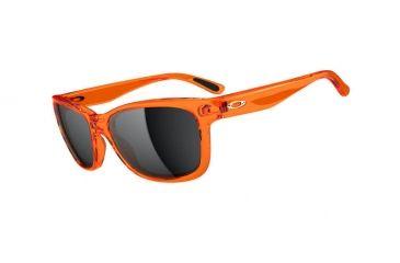 Oakley Forehand Sunglasses, Neon Orange Frame, Black Iridium Lens OO9179-14
