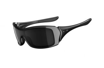 Oakley Forsake Polished Black Frame w/ Grey Lenses Women's Sunglasses OO9092-01