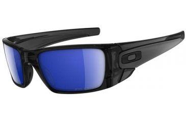 ea999b2491 Oakley Fuel Cell Sunglasses Polished Clear Frame Violet Iridium Lens ...