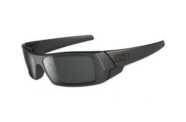 Oakley GasCan Progressive Prescription Sunglasses - Matte Black Frame 03-473