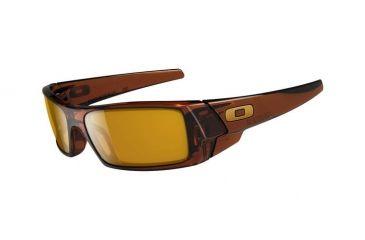 Oakley GasCan Progressive Prescription Sunglasses - Polished Rootbeer Frame 03-472