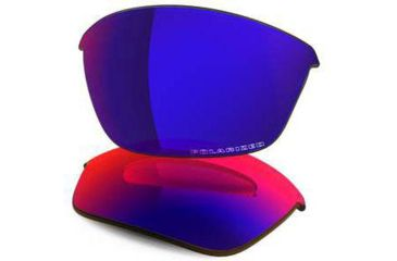 Oakley Half Jacket 2.0 Replacement Lenses, OO Red Iridium Polarized 43-504