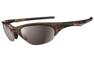 aa1f69398d ... Jet Black Frame Single Vision Prescription Sunglasses 03-613. Oakley  Half Jacket Brown Smoke Tungsten Iridium Polarized Lenses Single Vision Rx  ...