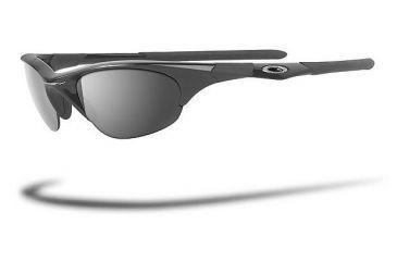 9588d27bd8 Oakley Half Jacket Jet Black Frame w  Black Iridium Lenses Sunglasses 03-614