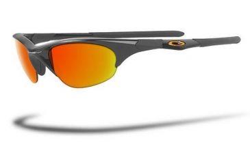 05b98f2f49 Oakley Half Jacket Jet Black Frame Single Vision Prescription Sunglasses 03- 613