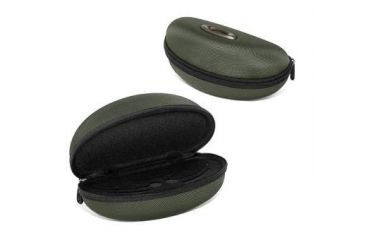 Oakley Half Jacket/Flak Jacket Green Soft Vault Eye Glasses Case 07-347