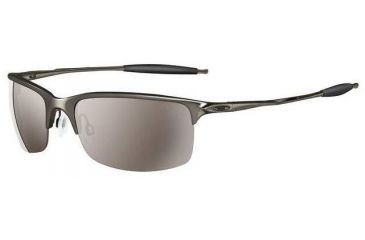 f9964b4c8b Oakley Half Wire 2.0 Black Chrome Frames w Tungsten Iridium Lenses  Sunglasses 05-746