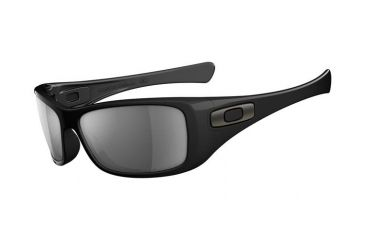 Oakley Hijinx Polished Black Frame w/ Grey Polarized Lenses Men's Sunglasses 12-940