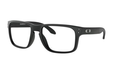 7f72e0d2d9a ... inexpensive oakley holbrook rx ox8156 progressive prescription  eyeglasses 815601 54 satin black frame clear a9c4c 4f2e6 ...