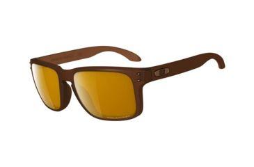 Oakley Holbrook Single Vision Prescription Sunglasses - Matte Rootbeer Frame OO9102-03