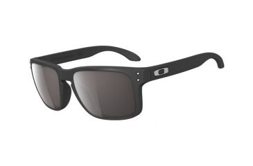 Oakley Holbrook Single Vision Prescription Sunglasses - Matte Black Frame OO9102-01