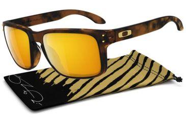 Oakley Holbrook Sunglasses - Shaun White Gold Series Brown Tortoise Frame and 24K Iridium Lens OO9102-34