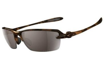 ff6e1fc5d45 Oakley Ice Pick BrownTortoise Frame w  TungstenIridium Polarized Lenses  Sunglasses 12-958