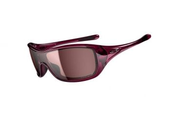 Oakley Ideal Sunglasses, Crystal Raspberry Frame, OO Grey Lens, Polarized OO9151-05