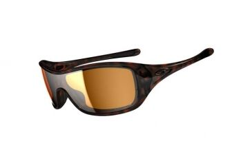 Oakley Ideal Sunglasses, Tortoise Frame, Bronze Lens, Polarized OO9151-06
