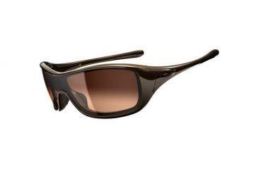Oakley Ideal Sunglasses, Brown Sugar Frame, Dark Brown Gradient Lens OO9151-01