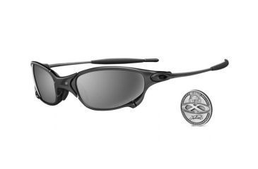 Oakley Juliet Carbon Frame w/ Black Iridium Polarized Lenses Men's Sunglasses 04-149