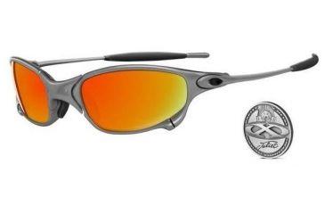 Oakley Juliet Plasma Frame w/ Fire Lenses Sunglasses 04-151