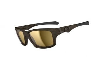 Oakley Jupiter Squared Sunglasses, Woodgrain Frm, Tungsten Irid Lens, Polar OO9135-07