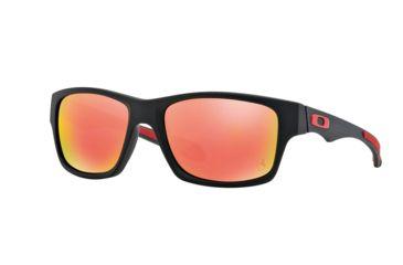 aae2dcc060807 Oakley JUPITER CARBON OO9220 Sunglasses 922006-56 - Matte Black Frame, Ruby  Iridium Polarized