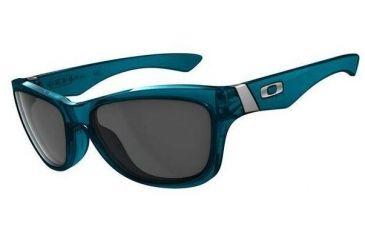 f9e9de6ebe Oakley Jupiter Crystal Turquoise Frame Frame w  Grey Lenses Sunglasses  03-257