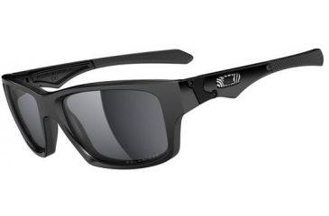 Oakley Jupiter Squared Sunglasses - Jordy Smith - Polished Black Frame and Black Iridium Lens OO9135-10