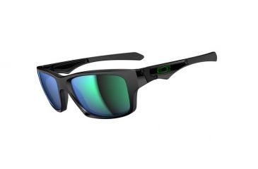 Oakley Jupiter Squared Sunglasses, Polished Black Frame, Jade Iridium Lens OO9135-05