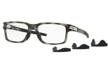 0bc4e3e05cd Oakley LATCH EX OX8115 Progressive Prescription Eyeglasses 811507-52 -  Polished Grey Tortoise Frame