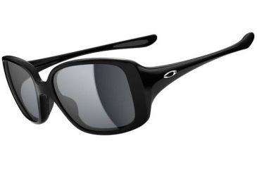 Oakley LBD Sunglasses - Polished Black Frame and Grey Lens OO9193-01
