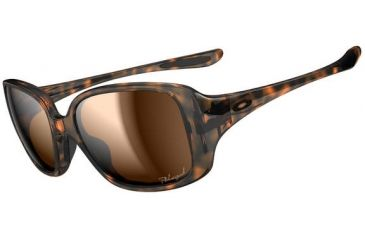 Oakley LBD Sunglasses - Tortoise Frame and Bronze Polarized Lens OO9193-06