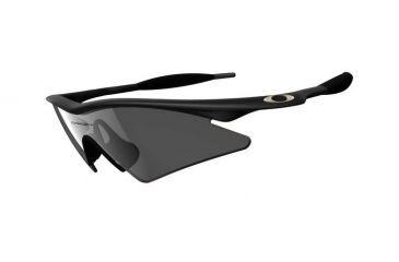 Oakley M-Frame Sweep Sunglasses - Black Frame w/ Grey Lenses 09-101