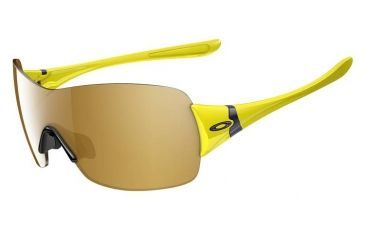 Oakley Miss Conduct Squared Sunglasses, Sunflower Frame, Gold Iridium Lens OO9141-14